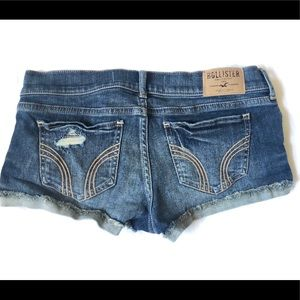 Hollister low rise size 27